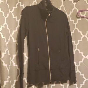 Lululemon Black Athletic Zip Up Jacket